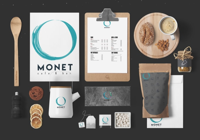 I will design a modern and minimalist logo and do branding for you