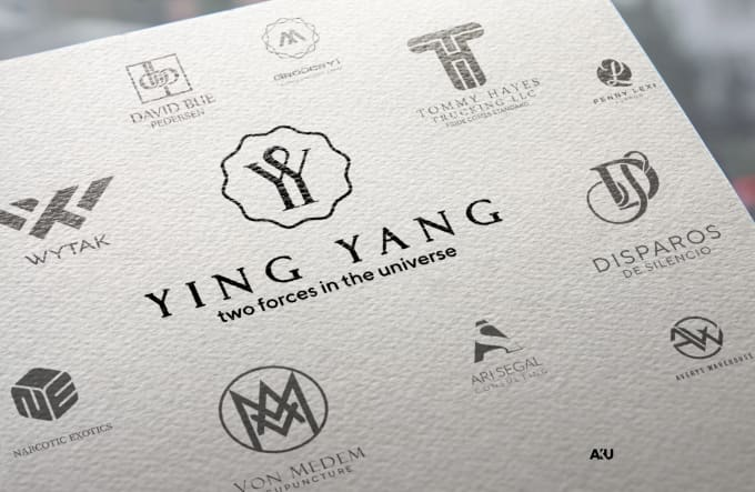 I will design an eye catching initial letters, monogram logo