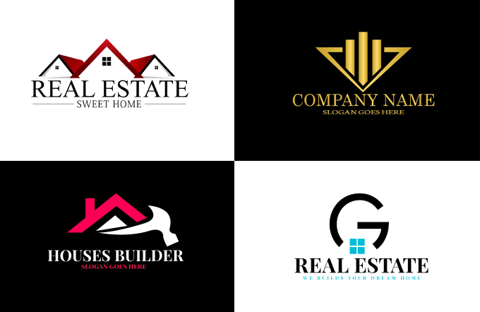 I will design real estate, house,construction, property logo